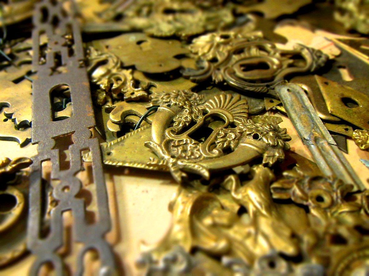 bocchette per serrature antiche